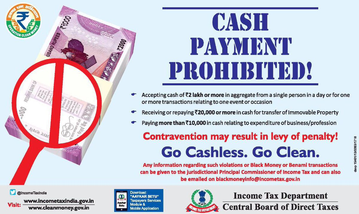 Cash transaction limits