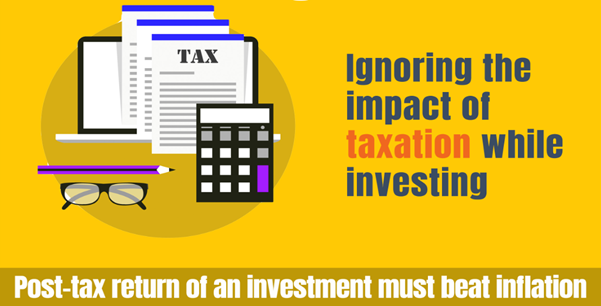 Do you consider tax angle while making investments?