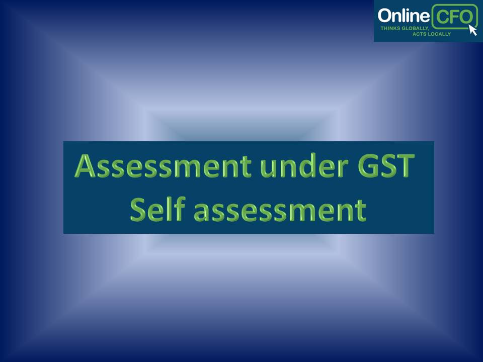 GST Tax Assessment